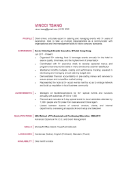 Senior Finance Executive Resume Catering U0026 Events Executive Cv Ctgoodjobs Powered By Career Times