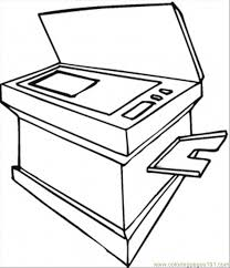 huge copy machine coloring page free computer coloring pages