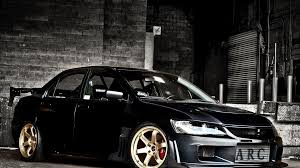 mitsubishi lancer evo 9 tuning walldevil