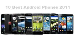 the best android android phone 2011 www