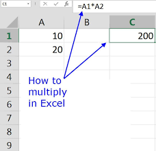 how to multiply in google spreadsheets