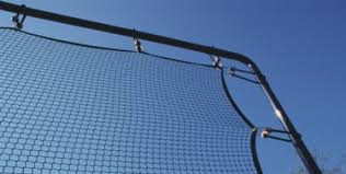 outdoor court lighting systems multi use net systems soft fencing
