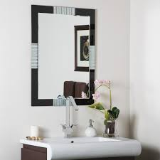 Beveled Bathroom Mirrors by Modern Wall Mirrors And Frameless Mirrors Organize It