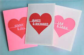 custom valentines day cards personalized valentines cards on etsy with heart