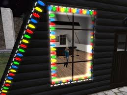 second life marketplace christmas lights multi color house xmas