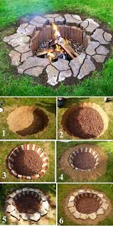 How To Make A Fire Pit In Your Backyard by 27 Awesome Diy Firepit Ideas For Your Yard Bricks Stone And