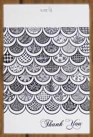 11 best thank you zentangles images on pinterest zentangles
