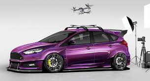 ford focus st modded these are ford s modded focus hatches for sema