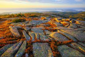 Mountains In Usa Map by Cadillac Mountain Acadia National Park Maine