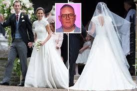 Wedding Dress Designers Uk Who Is Giles Deacon Designer Behind Pippa Middleton U0027s Wedding