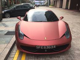 matte pink car matte red 458 italia madwhips