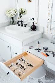 Makeup Organizer Desk by A Place For Everything Labeled Makeup Organizer Simply Kierste