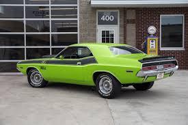 Dodge Challenger Green - 1970 dodge challenger fast lane classic cars