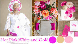pink and white color combo u2013 my wedding nigeria