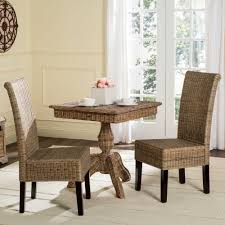 best indoor wicker dining room sets contemporary home design
