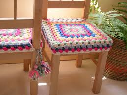 Crochet Armchair Covers Happy Crochet Chair Covers Chair Covers Granny Squares And Tassels
