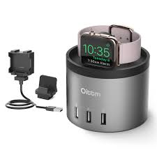 oittm charging station for airpods charging case with built in