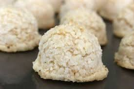 vanilla bean coconut macaroons egg and nut free coconut