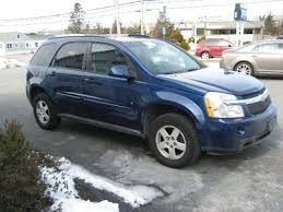 chevrolet equinox blue used 2008 chevrolet equinox lt at falmouth auto sales