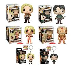 attack on titan wave 2 pop vinyl wishlist pinterest pop vinyl