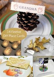 14 festive ideas for diy place cards diycandy