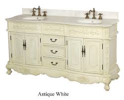Antique White Makeup Vanity Makeup Vanity Set Bathroom Victorian With Cabinet Kick Plate Style