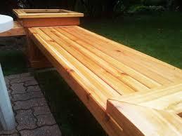 diy corner planter bench myoutdoorplans free woodworking plans