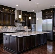 Granite With Cherry Cabinets In Kitchens Best 25 Kitchens With Dark Cabinets Ideas On Pinterest Dark