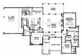 mediterranean floor plans with courtyard floor plans with