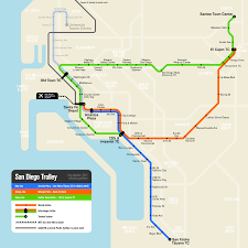 San Diego State Map by List Of San Diego Trolley Stations Wikipedia