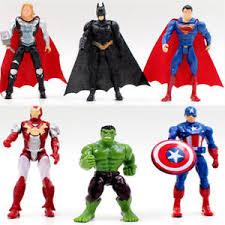 captain america cake topper figure batman iron superman captain america thor