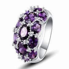 bridal fashion rings images Amethyst wedding ring set lovely amethyst bridal set unique jpg