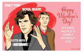 dr who valentines day cards send a sherlock watson s day card vulture