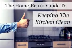 keeping the kitchen clean a home ec 101 guide home ec 101