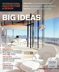 Home Design Magazines Canada International Architecture U0026 Design Magazine Winter 2011