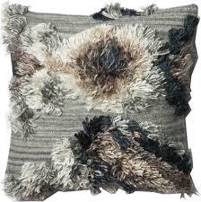 justina blakeney fable pillow gray