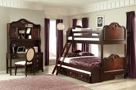Bunk Bed Sets Homelegance Lund Bunk Bed Set Rich Cherry B2002 Bunk Bed Set