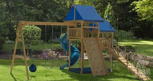 Swing Set For Backyard by Afternoon Retreat Backyard Kids Playset Play Mor Swingset Ohio