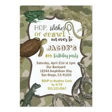 Backyard Birthday Party Invitations Safari Animal Birthday Party Invitations For Kids