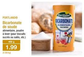 bicarbonate de soude cuisine aldi promotion bicarbonate de soude portland ustensiles de