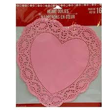 heart doily kamisco lace heart doilies home