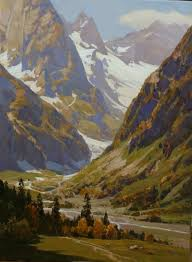 Mountain Landscape Paintings by 49 Best Aleksander Babich Images On Pinterest Mountains