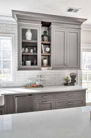 pics of kitchens with white cabinets and gray walls 25 ways to style grey kitchen cabinets