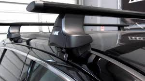 jeep grand luggage rack jeep grand with thule 480r traverse aeroblade roof rack