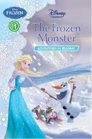 store disney learning frozen frozen monster level pre 1 book