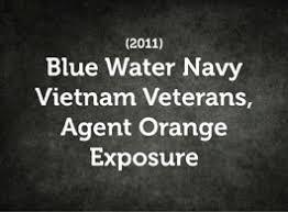 Blue Water Navy Vietnam Veterans Agent Orange And Herbicides Vetshq