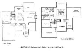 5 bedroom 3 bath floor plans decoration 5 bedroom house plans 2 story floor for homes