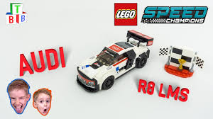 Audi R8 Build - videos build the blocks