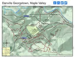 Georgetown Map Danville Georgetown Trails Maplets