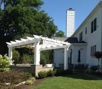 6x6 post residential gl steel pergola modern houses design vinyl